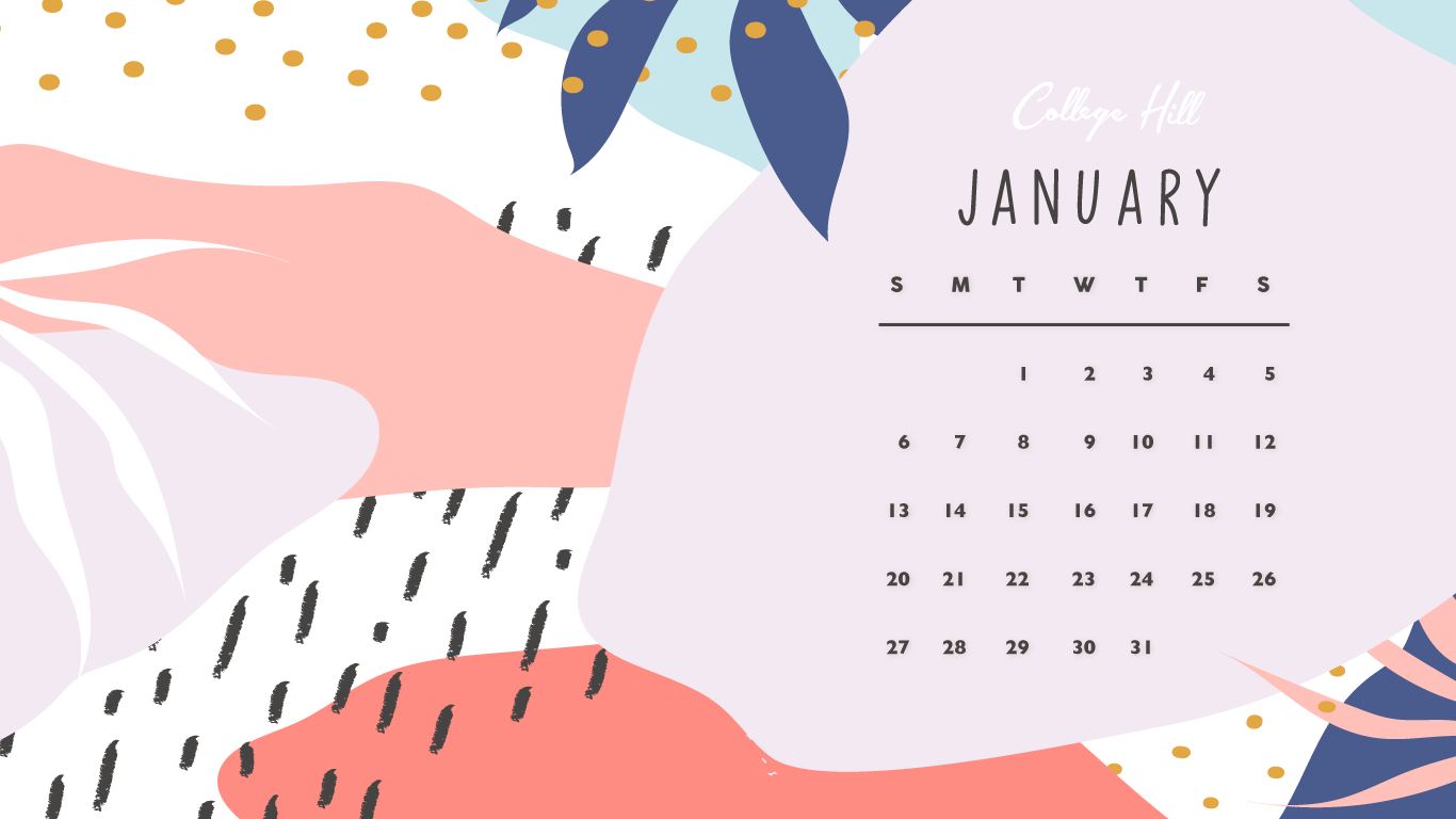 Our January Wallpaper Is Here
