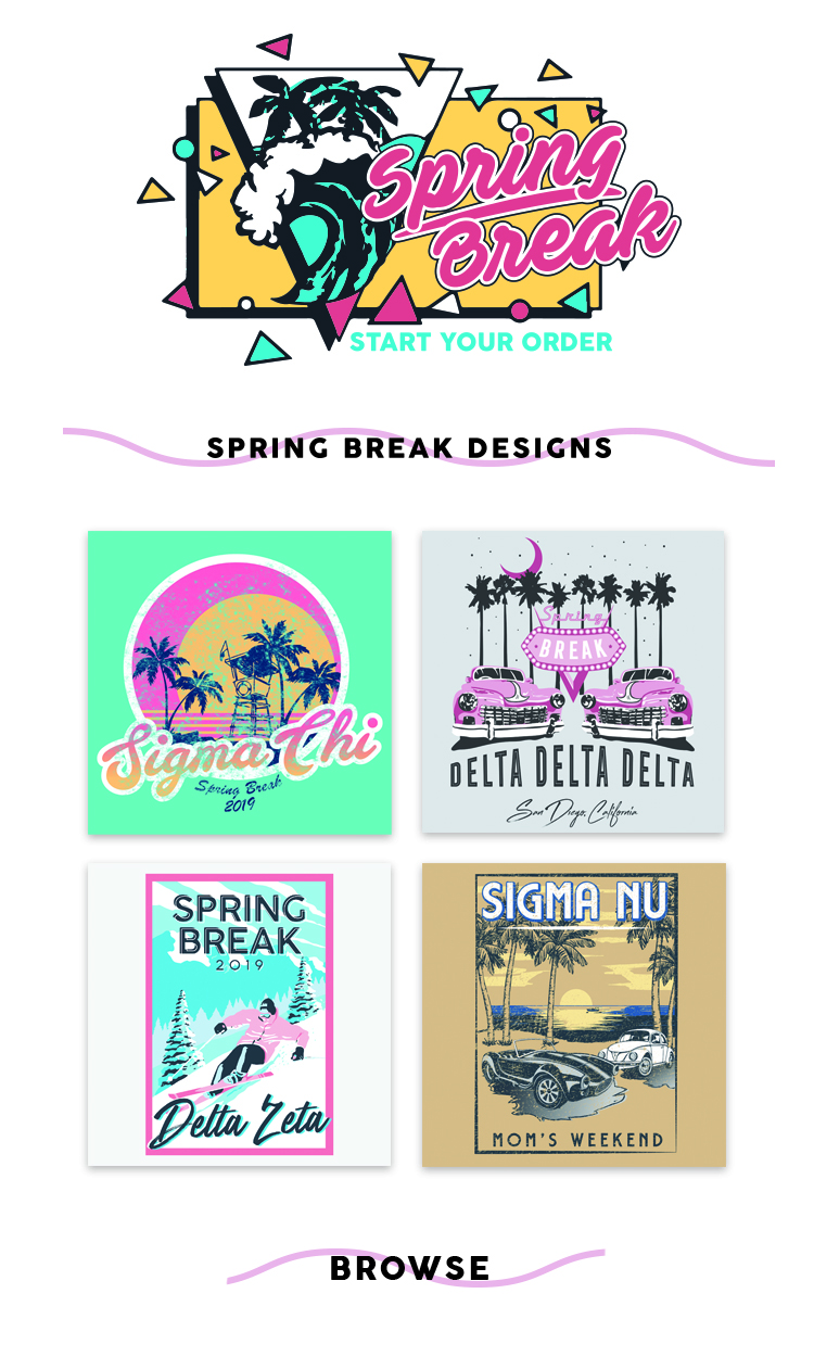 College Hill Marketing 2019 - Spring Break Email insert