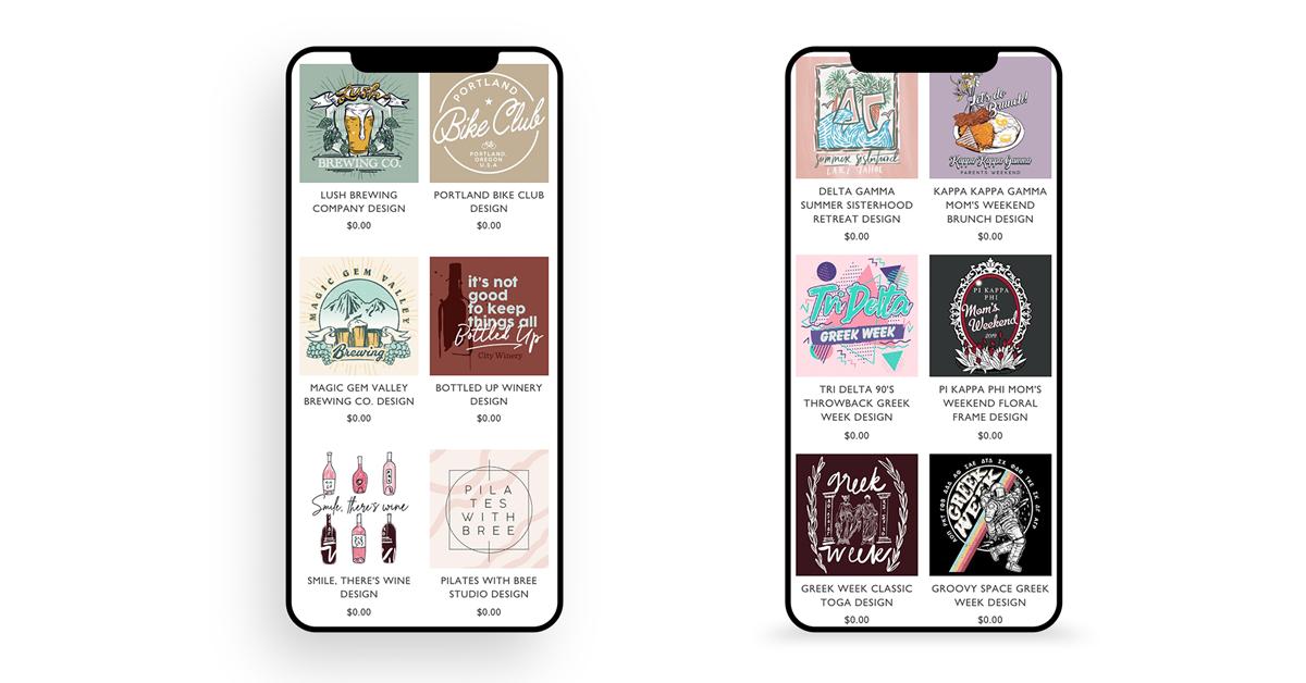 iphone - full mock copy