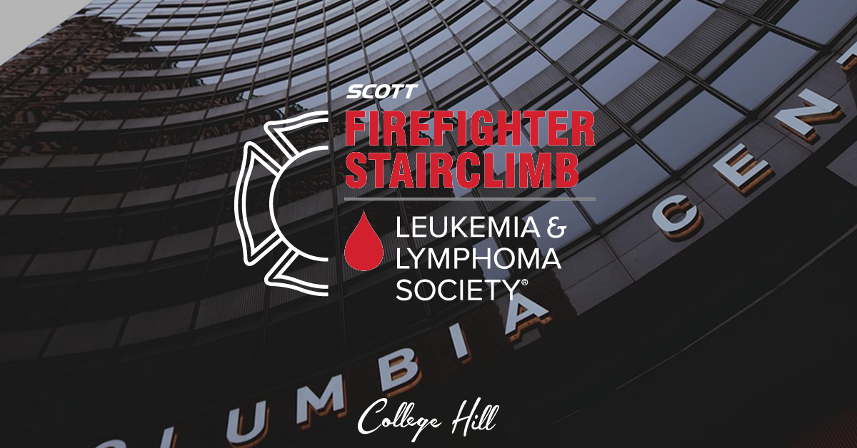 Fundraising with College Hill Ft. the Leukemia & Lymphoma Society Scott Firefighter Stairclimb